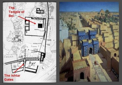 azBabylon Ishtar gates